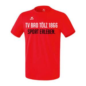 "FUNKTIONS TEAMSPORT T-SHIRT ""Sport erleben"""